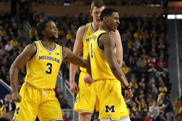 gettyimages 1090606080 Wolverines Stay Perfect With 74 63 Win Over Indiana