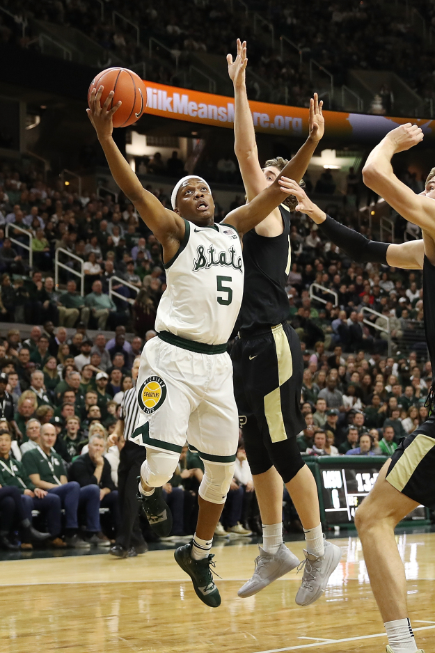 gettyimages 1091570922 Michigan State Tops Purdue For 9th Straight Win