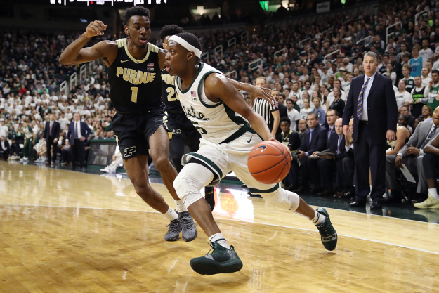 gettyimages 1091570924 Michigan State Tops Purdue For 9th Straight Win