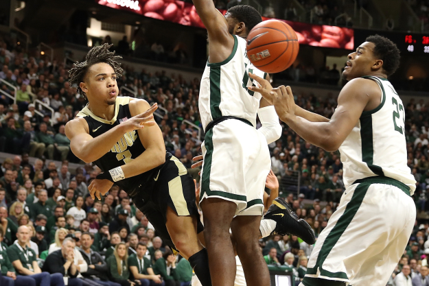 gettyimages 1091591212 Michigan State Tops Purdue For 9th Straight Win