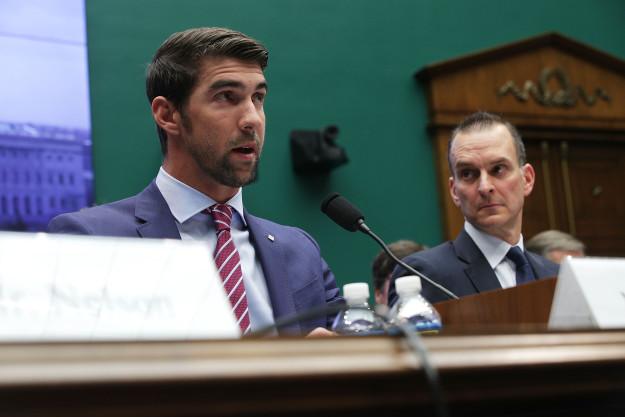 gettyimages 646270908 Advocating For Mental Health Earns Phelps Award