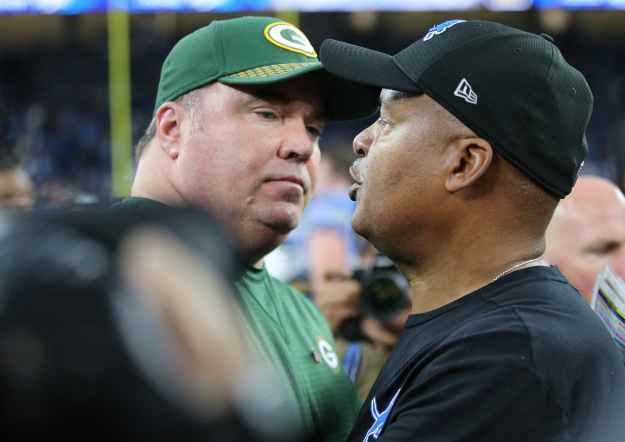 gettyimages 900109696 Former Lions Coach Caldwell Interviews With Packers & Browns