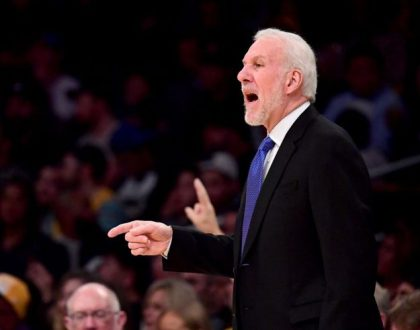 gettyimages 904042326 e1546953439152 Popovich gets 518th road victory, Spurs beat Pistons 119 107