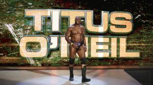 Titus O'Neil WWE Raw